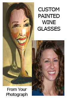 Winey Women Wine Glasses